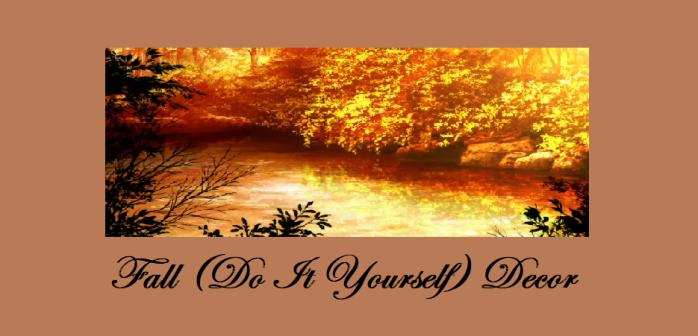 Fall diy decor cover pic